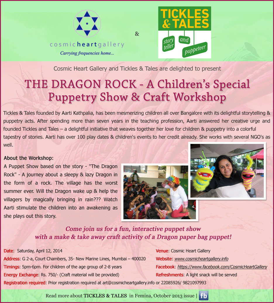 THE DRAGON ROCK - A Children's Special Puppetry Show
