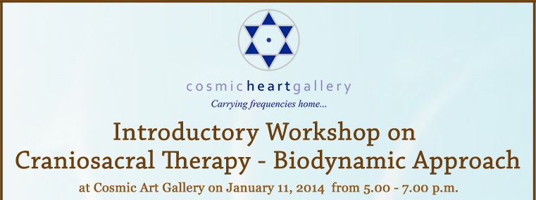Introductory Workshop on Craniosacral Therapy - Biodynamic Approach